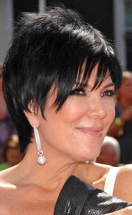 Chris Jenner's Lovely Short Hairstyle