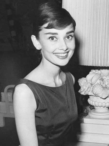 Pixie Cut Audrey Hepburn The classic pixie cut by