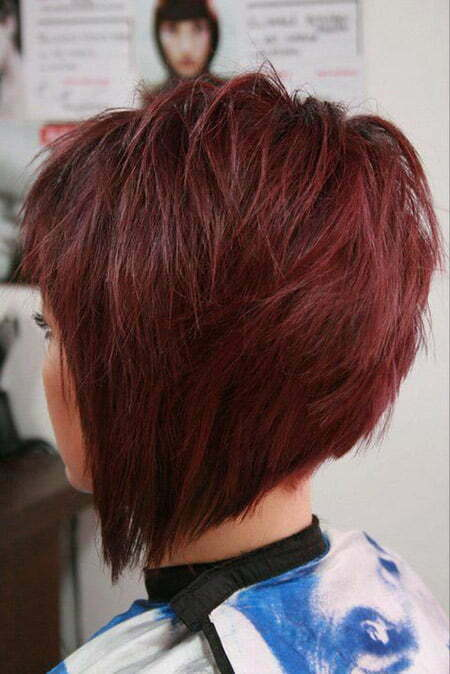 Pics Photos - Short Graduated Bob Haircut For Thin Hair