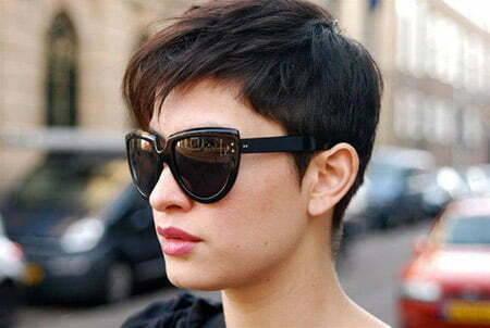 Cool Boyish Pixie Hairstyle