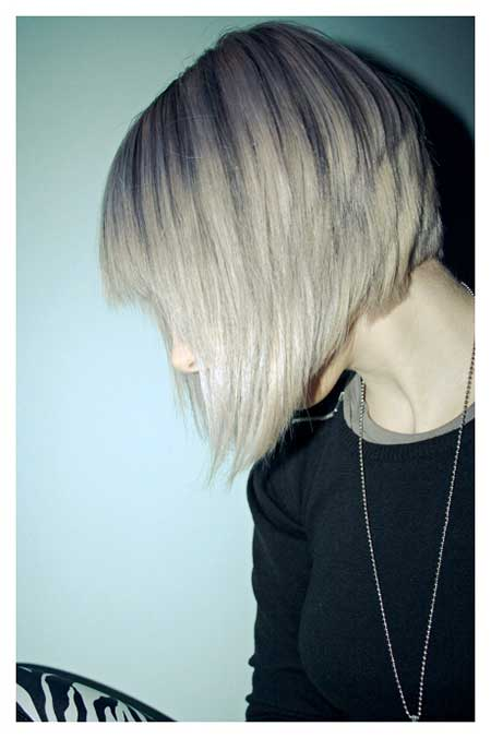 Cool Layered Graduated Bob Cut