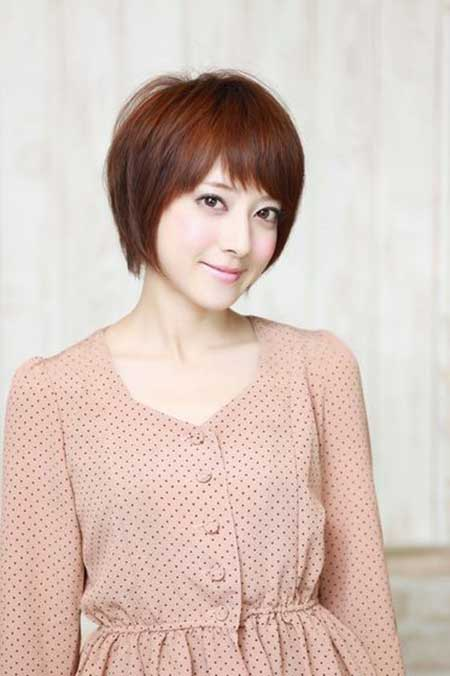 Cool Red Bob Hairstyle