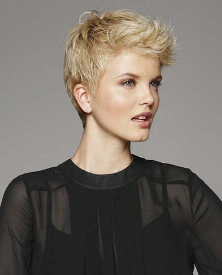 Cool Wavy Pixie Cut