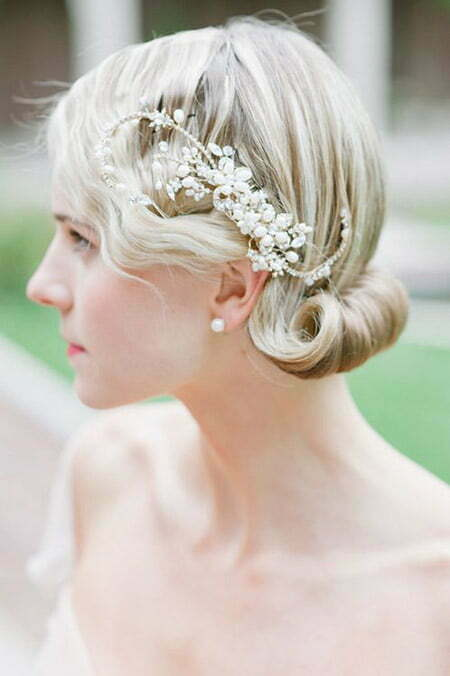 Excellent Short Wedding Hairstyles For Women Short Hairstyles 2016 2017 Short Hairstyles Gunalazisus