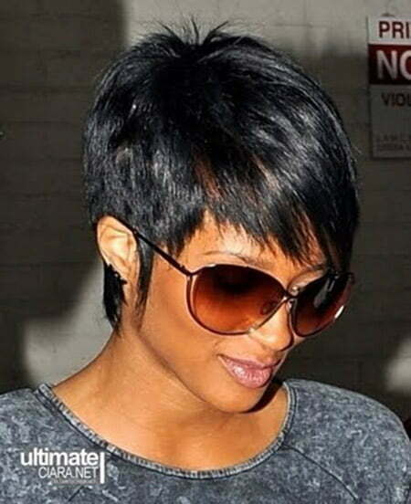 Cool and Lovely Black Pixie Cut