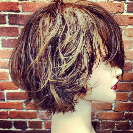 Cool and Lovely Messy Bob Cut