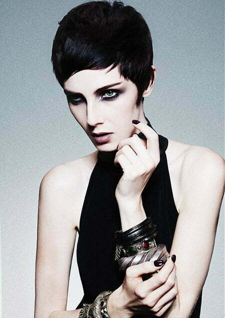 Cool and Sleek Pixie Cut