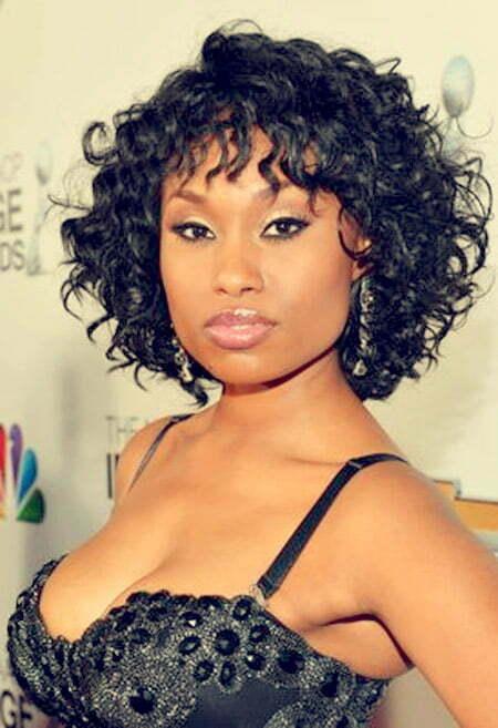 Curly Short Hair for Black Women