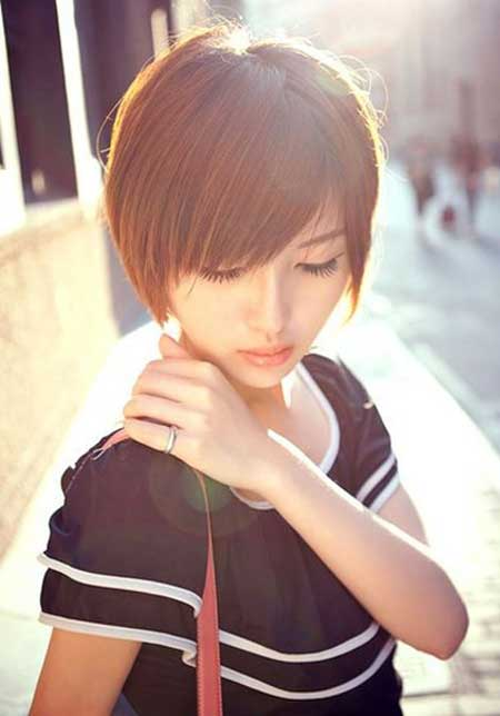 Cute Asian Bob Cut
