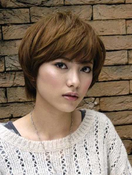 Cute Short Asian Hairstyle