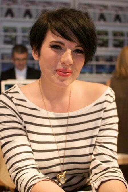 Cute Short Hair Styles With Bangs