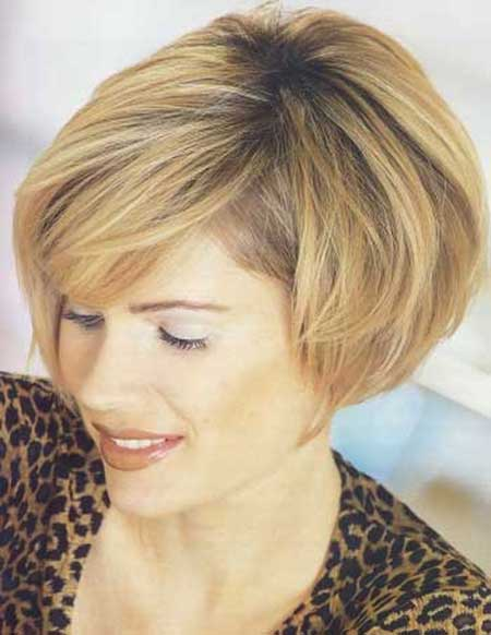 Dark Honey Blonde Bob Hairstyle