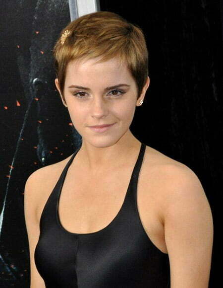 Emma Watson's Lovely and Charming Pixie Cut