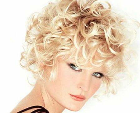 Fabulous Curly Bob Cut