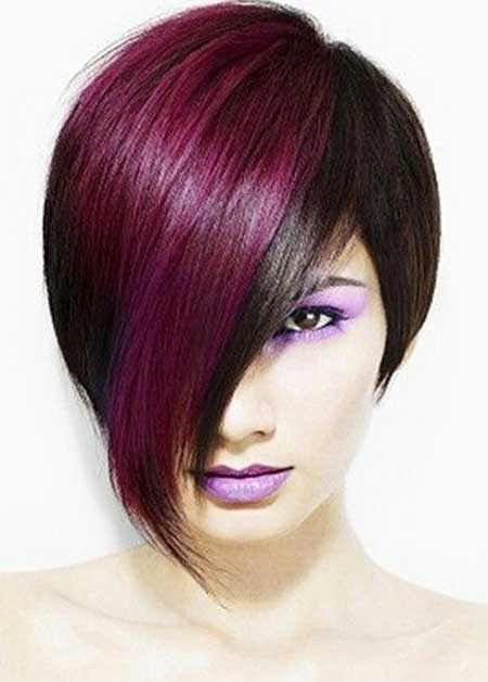 Outstanding Cool Hair Colors For Short Hair Short Hairstyles 2016 2017 Hairstyles For Women Draintrainus