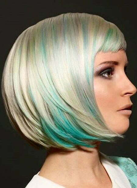 Fantastic Bob Cut With Awesome Hues of Colors