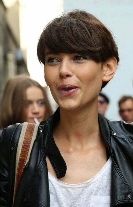 Fantastic Bob Cut with Messy Top