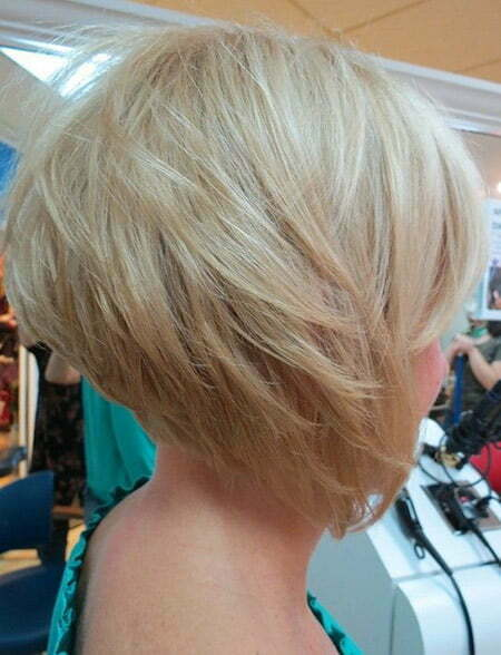 Fantastic Graduated Bob Cut