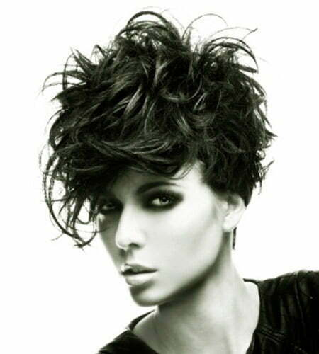 Fantastic Messy Pixie Hairstyle