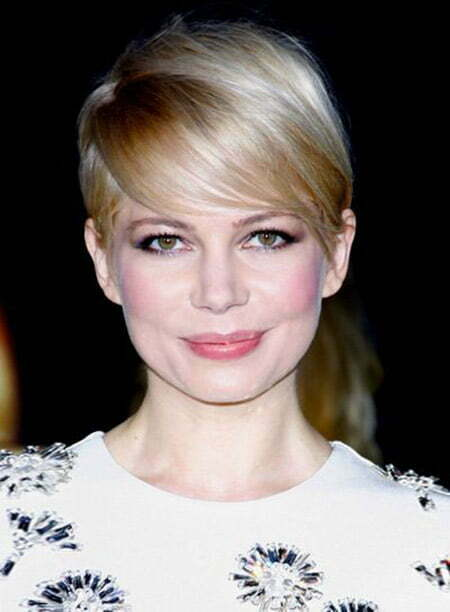 Fantastic Pixie Cut of Michelle Williams