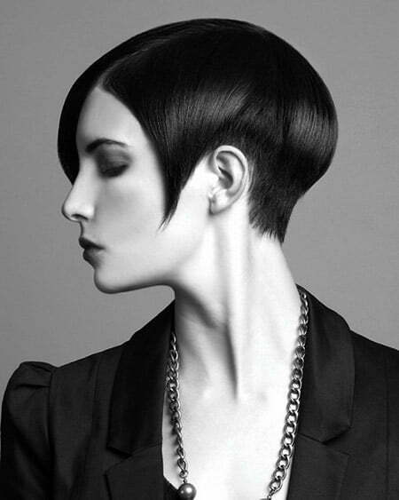 Fantastic Sleek Classic Bob Cut