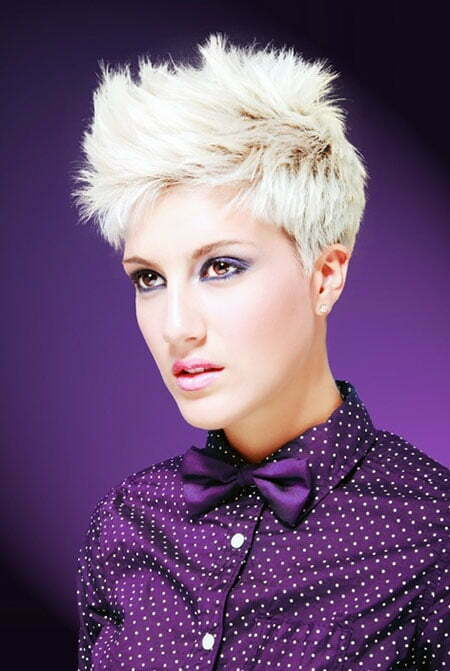 Fantastic Spiky Pixie Cut