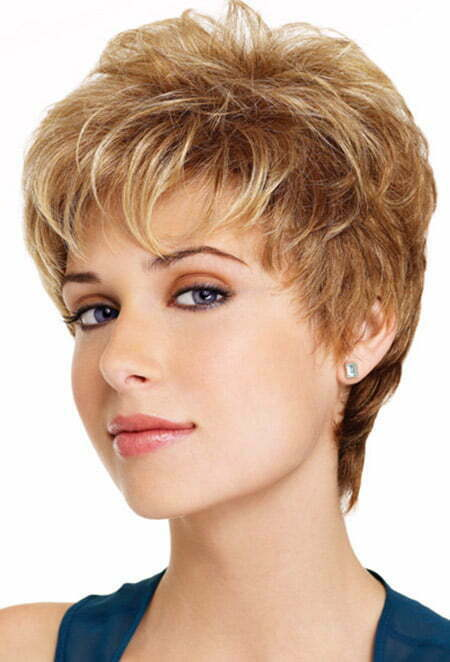 Hairstyles For Short Hair With Less Volume : ... Short Hairstyles 2016 - 2017 Most Popular Short Hairstyles for 2017