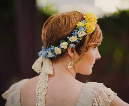 Flowers for Wedding Hairstyles