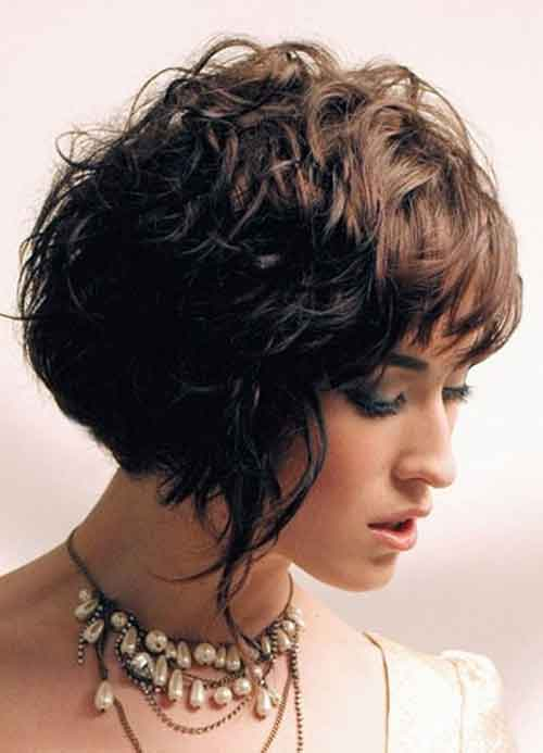 Good Short Haircuts for Wavy Hair-3