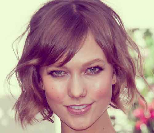 Good Short Haircuts for Wavy Hair-8