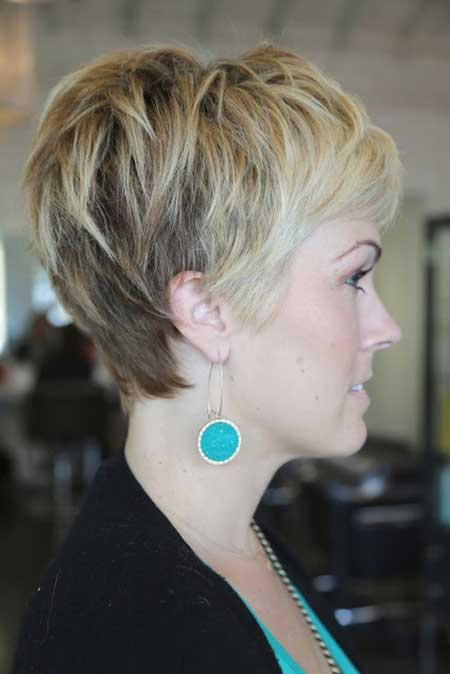 Grown Out Pixie Hairstyle