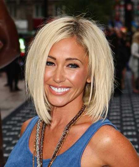 Jenny Frost short hairstyle