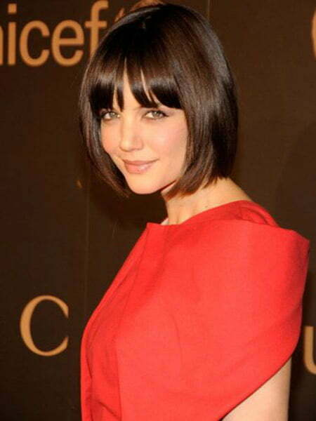 Katie Holmes's Captivating Bob Cut