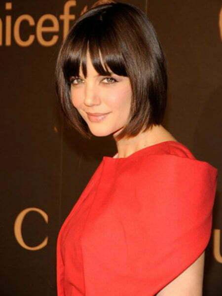 Katie Holmes's Captivating Bob Cut