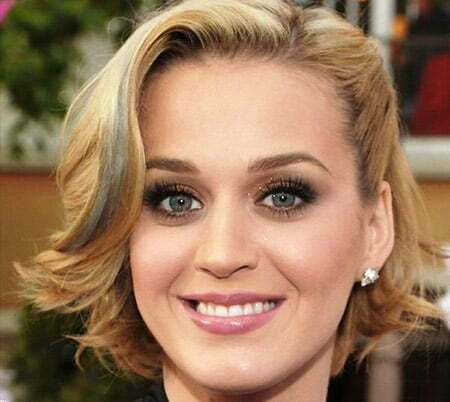 Katy Perry's Fantastic Flip Out Bob Cut