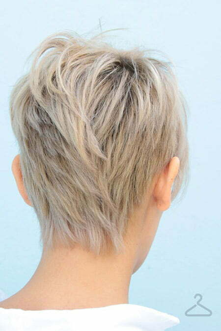 Fantastic Back View Of Short Haircuts Short Hairstyles 2016 2017 Most Short Hairstyles For Black Women Fulllsitofus