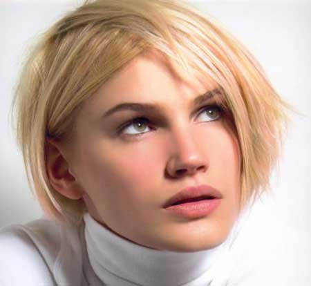 Layered Blonde Hair