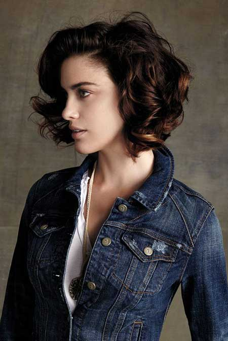 short hair cuts for curly hair short hairstyles 2017