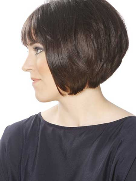 Lovely A-line Bob Hairstyle