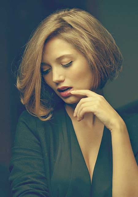 Lovely Asymmetric Bob Cuts