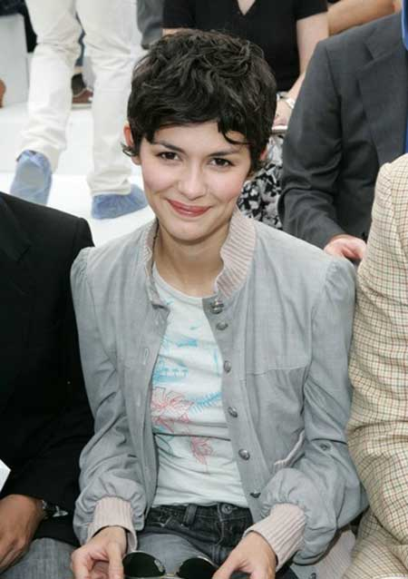Lovely Black Hair Pixie Cut