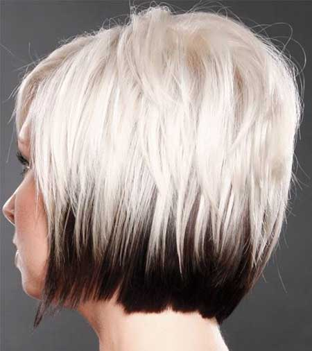 Lovely Blonde Bob Cut