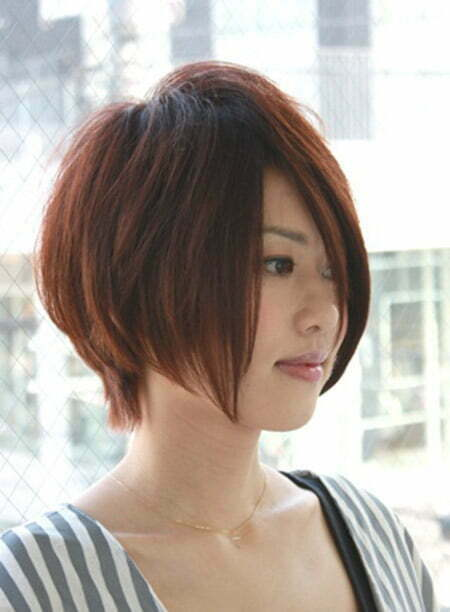 Lovely Graduated Bob Cut