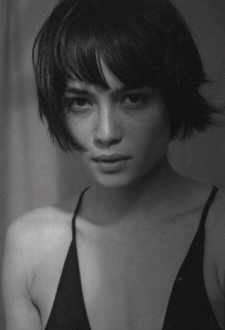 Lovely Messy Bob Cut