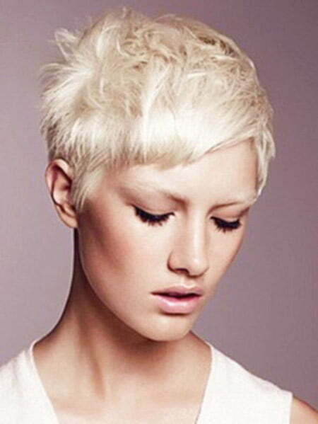 Lovely Messy Pixie Cut