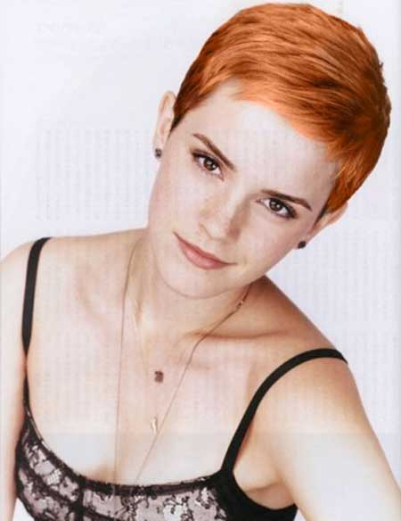 Lovely Pixie Cut by Emma Watson