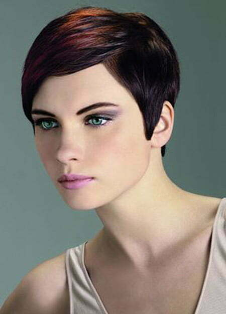 Lovely and Alluring Pixie Cut