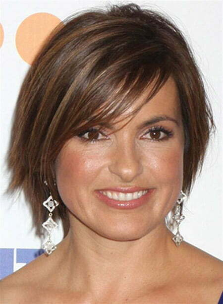 Mariska Hargitay Short Haircut