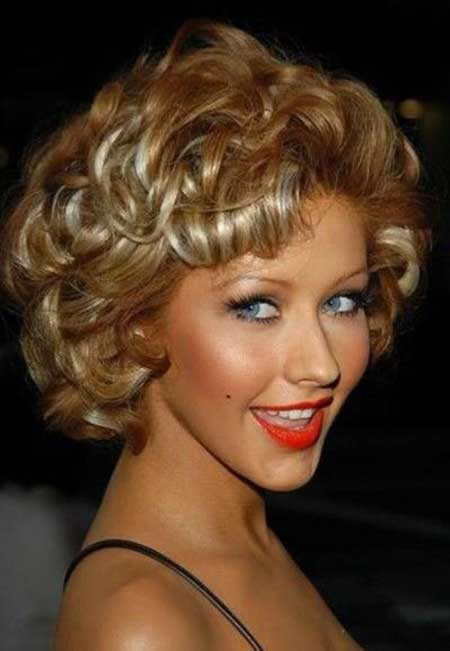 Medium Curly and Classy Hair