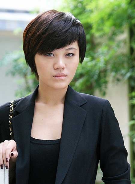 Medium Short Hairstyle